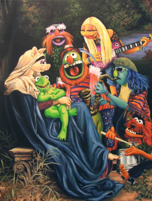 Song of The Electric Mayhem available today @ Steal This Art! Limited run of 60 signed prints!