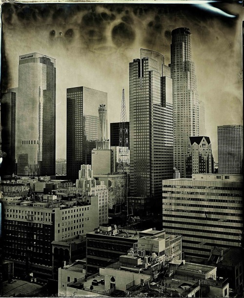 ianruhter:   Ian Ruhter/Wet Plate Collodion/Down Town Los Angeles, CA/ 10.1.10