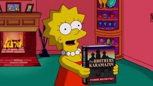 bbook:  A Few More Great Literary 'Simpsons' Moments
