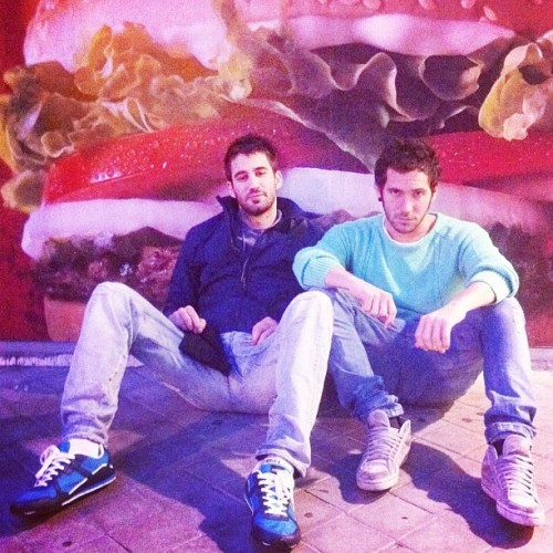 Whopper boys! (Tomada con instagram)