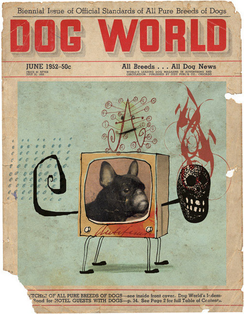 "Walter Vasconcelos, ""Dog World"""