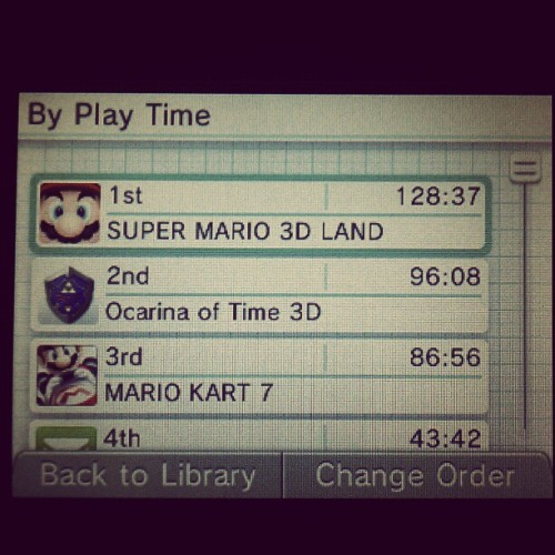 3DS Activity Log: putting life into a grave perspective. (Taken with instagram)
