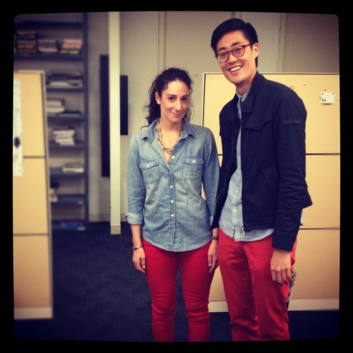 """We did it on purpose."" - DDB Twinsies  (Also, this gentleman has a DC Twinsie )"