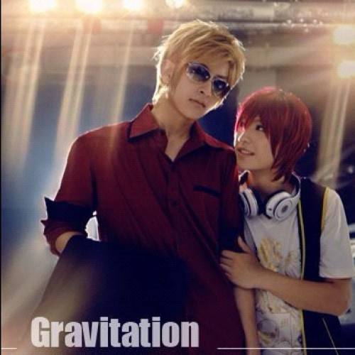 kogekixchan:  #Gravitation #yaoi #cosplay (Taken with instagram)