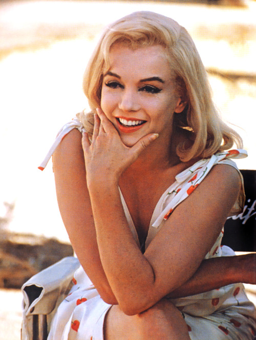 Marilyn Monroe on the set of The Misfits (1961)