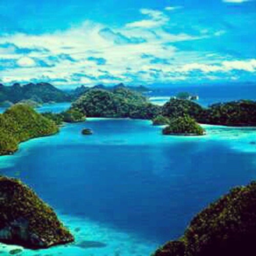 Raja ampat - indonesia #nature #ig #igers #instagram #instadaily #instagraph #instaphoto (Taken with Instagram at raja ampat - indonesia)