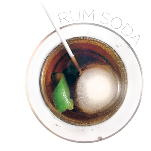 The Perfect Summer Drink: Rum Soda  This week it's gotten up in the 90s here in Austin, and the only way I've found to beat the baffling heat is to put on some short-shorts and water the garden with a tasty beverage in hand. So by request from my friend and fellow gardener Daniel Nadeau, here's my very own, very secret recipe for Rum Soda. I know it sounds weird, and the name is still in Beta, but this little drink packs a serious punch – this is the adult Coca-Cola! It's extra fizzy, spicy and sweet (but not too sweet), with a tangy zing of citrus to finish it off. Finished with a special maraschino cherry, this cocktail is a refreshing spirit-booster and desert all in one.   Read More » (Including the recipe!)