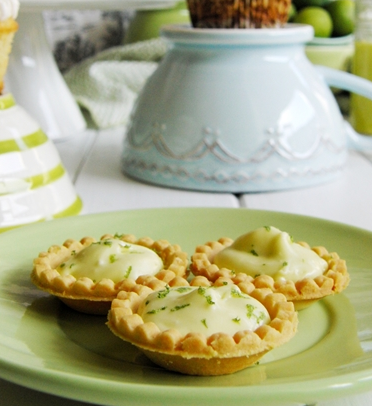 key lime tartlets click here for recipe