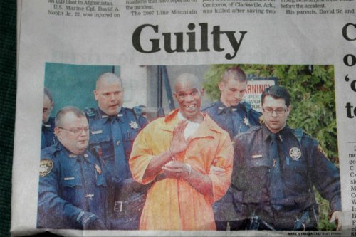 Guilty Convict Looks Way Too Happy   If being happy is a crime, then call me guilty. [via]