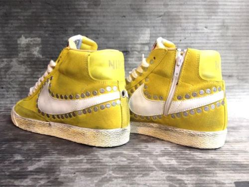 Nike Blazer Lemon with studs only at www.muffinonline.it
