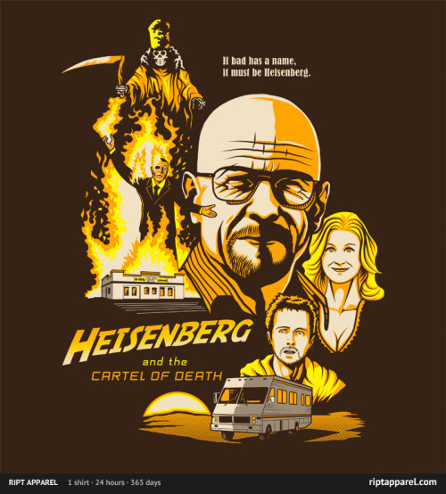 laughingsquid:  Heisenberg's Cartel of Death by Ninjaink