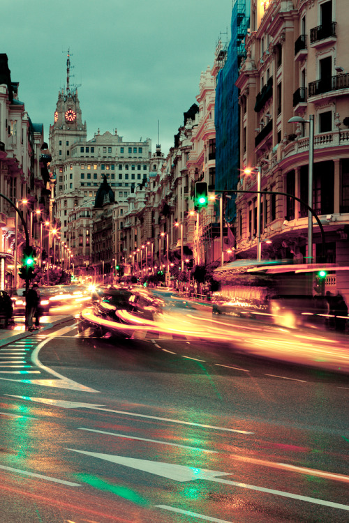 Gran Vía (4) Madrid, Spain.