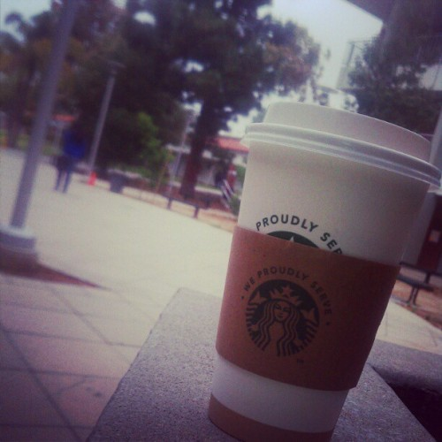 #WhiteChocolateMocha perfect weather  (Taken with Instagram at Mt. San Antonio College)
