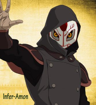 So the Legend of Korra's villain AMON looks a lot like Digimon's Infermon so i combined them BWAHAHAHAHAH