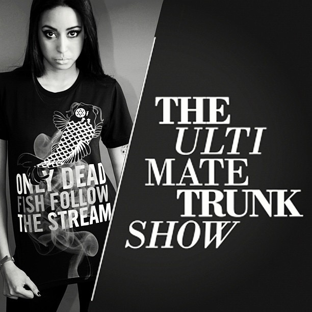 June 2nd 82 Mercer, Soho #theultimatetrunkshow @clb_uts Featuring De-Jé! #dejenyc #clothing #fashion #shop #design #skulls (Taken with instagram)
