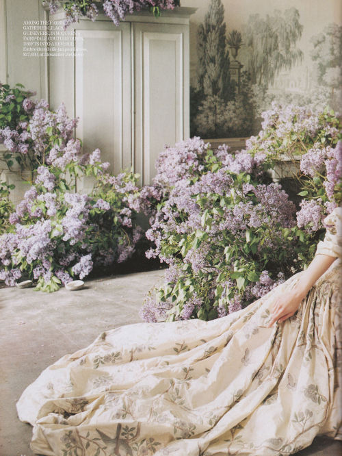 Vogue UK August 2006, photographed by Tim Walker.