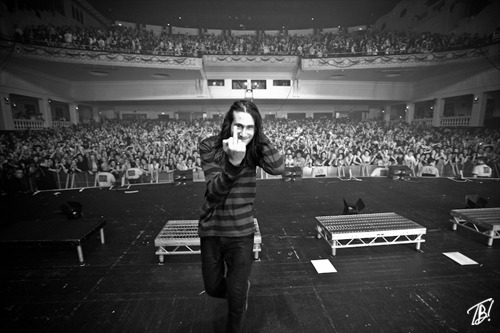 georginaconway:  tombarnesphoto:   You Me At Six - Chris Miller - Brixton - March 2012   Amazing haha