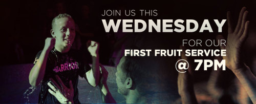 Join Us for First Fruits Wednesday Service TONIGHT at 7PM CT in The Cathedral of Frisco! Don't miss this opportunity to celebrate water baptisms, parent/child dedications and offer our first fruits giving. Worship with Elevate Life Worship & receive a special First Fruits Message & Communion you will not want to miss. Out Of Town or Unable To Attend In Person? Watch Live: DESKTOP or LAPTOP http://live.elevatelife.com/ SMARTPHONE http://elevatelife.mobi/ FACEBOOK http://on.fb.me/q4wYlb CALL 866.708.1452 for Technical Support