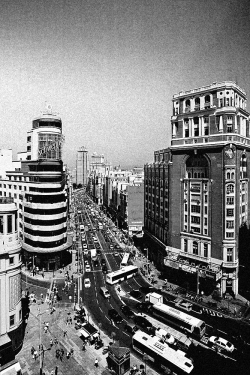 Gran Vía (5) Madrid, Spain.