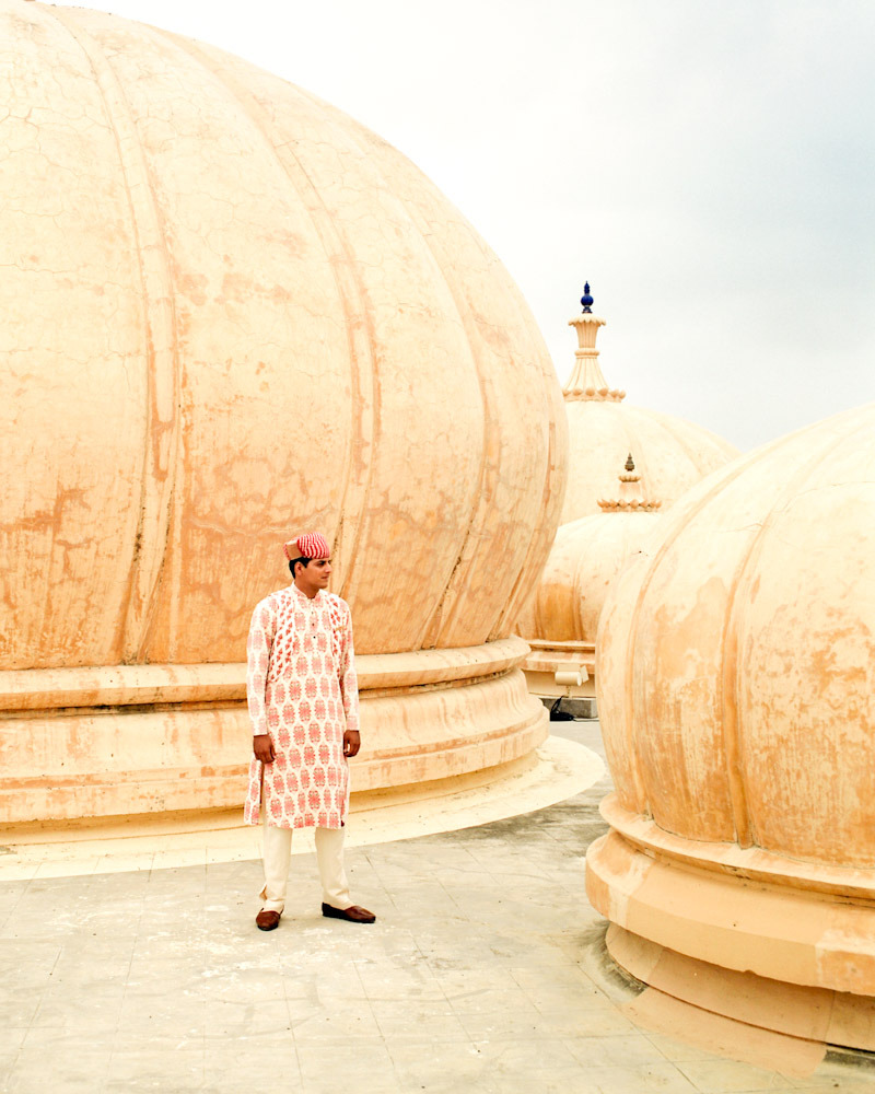 Rooftop hopping in Udaipur. Another outtake from the T+L India story last year.