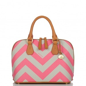 Online Find- Vivian Chevron Stripe Dome Satchel  $295