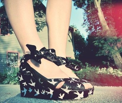 DIY Miu Miu Sparrow Shoes  Truebluemeandyou: From Cut Out + Keep.