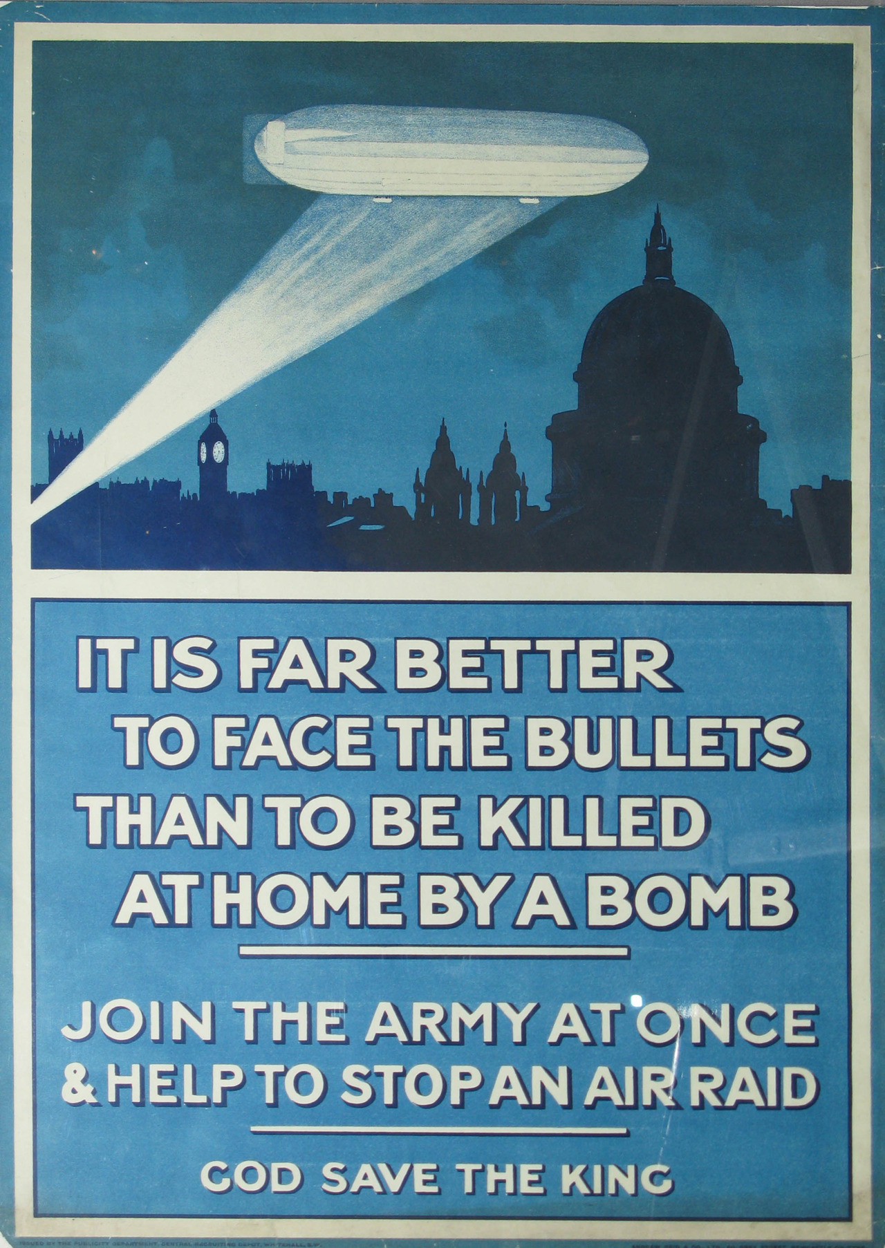 WWI poster, United Kingdom