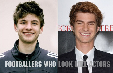 Thomas Müller / Andrew Garfield