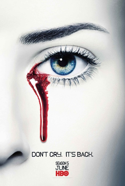 entertainmentweekly:  True Blood's Season 5 teaser poster is making us all misty.
