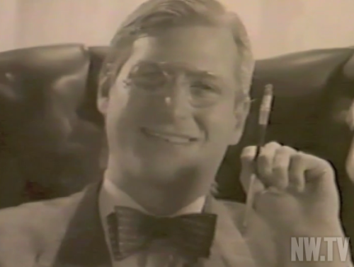 Not even Steve Jobs can win them all…. cnet:  Vintage Apple sales video surfaces, stars Steve Jobs as FDR A young Steve Jobs and other early Apple executives appear in a previously unreleased internal sales video for the Macintosh, circa 1984.