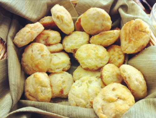 What makes a food meeting better? Mini biscuits for everyone! -Amy Palanjian, Senior Food Editor