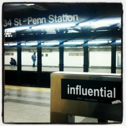 @niceinharlem 2 am #SWAG. Cut off from the uptown 2 train, but can't be cut off from the truth. #Influential (Taken with instagram)
