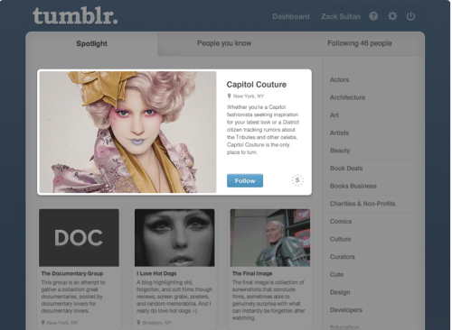 Business Insider: Tumblr Wants $25,000 Per Ad—Here's What They Look Like