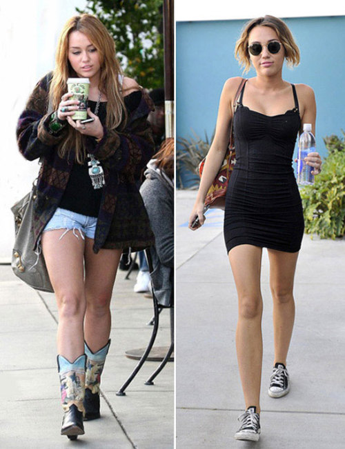 confidentinmyskinn:  I've heard people say Miley Cyrus transforming her body and losing weight isn't impressive because she can afford the best nutritionist, and best coaches and whatnot. Shut the fuck up. She still had to DO all the work. Money didn't get her this body, willpower did.