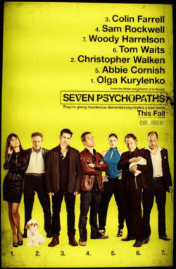 They had me at Christopher Walken and Sam Rockwell. Release date: November 2012
