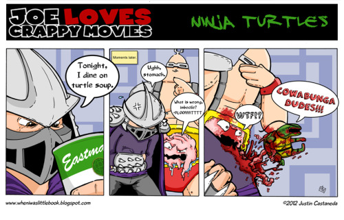 JLCM guest strip from Justin Castaneda.  Please check out his latest awesome book HEART.