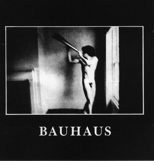 cover art  for Bauhaus 1980 album,  In the Flat Field photograph was taken two years prior to the album release by duane michals