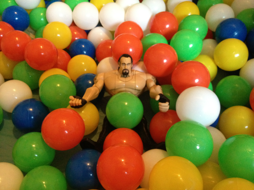 The Undertaker loves his frikkin' ball pit.
