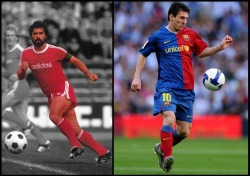 Lionel Messi breaks Gerd Muller's record of most goals in a European season The Argentine attacker has once more added his name to the history books as he netted a hat-trick against Malaga to better the legendary German's tally from nearly 40 years ago Barcelona attacker Lionel Messi has broken Gerd Muller's record of scoring the most goals in a European season after scoring a hat-trick in the Liga encounter against Malaga at Camp Nou. The Argentina international already broke Barca's all-time official scoring record earlier in the campaign at the tender age of 24. Messi also became the first player in the Champions League era to score five goals in a single match, when he achieved the feat against Bayer Leverkusen on March 7, while joining Jose Altafini as the highest scorer in a single European Cup campaign with 14 strikes.