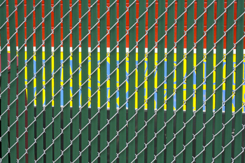 AlleyWalk_050112_22 on Flickr.Privacy fence color.