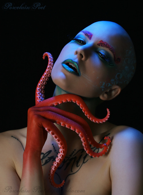 I guess I hadn't shown this on tumblr yet? MUA and modeling by Velocity.