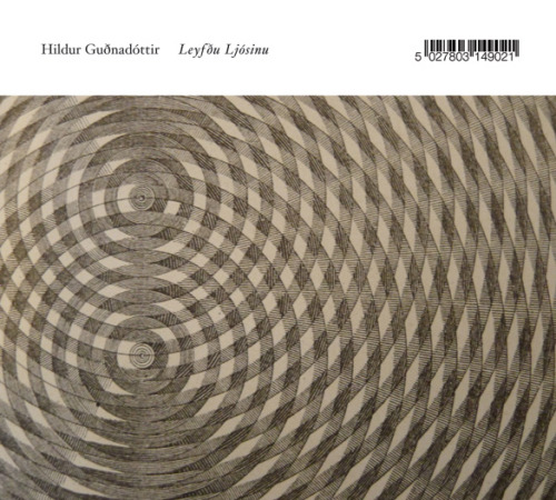"Hildur GudnadottirLeyfdu Ljosinu(Touch)  A lovely album of cello/voice/electronics compositions by Hildur Gudnadottir recorded live at the Music Research Centre (University of York) in January of this year. Touch's press release notes that the original live recordings have not been edited as ""to be faithful to time and space."" The effect of this move is the establishment of a sense of intimacy and even immediacy in these glacially moving string compositions. The album begins with a brief string prelude before the centerpiece, ""Allow The Light"" takes center stage. Thirty-five minutes in length, the piece is really quite beautiful, with angelic, clarion vocals eclipsing beautiful string arrangements for cello. Midway through the piece its initial frailness gives way to a more spectacular and assertive movement, building to a frenzied mass of bowed strings and booming electricity clouds. Impressive and immersive listening, and typically top-notch presentation by Touch. - Alex Cobb, Experimedia"