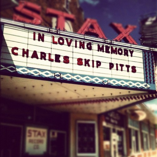 'We can dig it' RIP Charles Skip Pitts #stax #shaft (Taken with instagram)