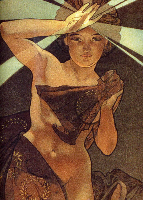 sinensia:  Morning Star / Alphonse Mucha