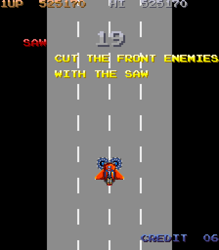 City Bomber (Konami - arcade - 1987) vgjunk:  One from the City Bomber article.