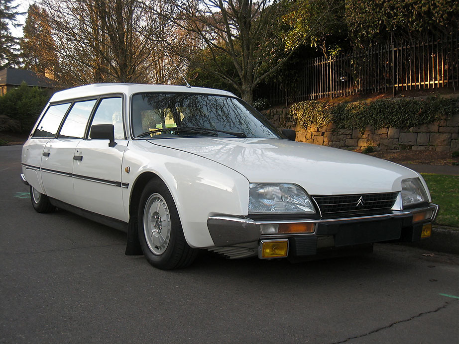 '81 Citroen CX Reflex Wagon - Hydraulic Reflexes