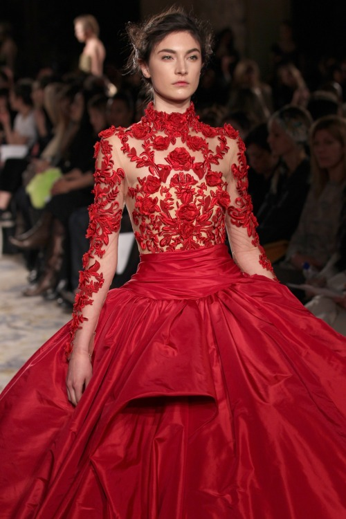 glamour:  This Marchesa dress.