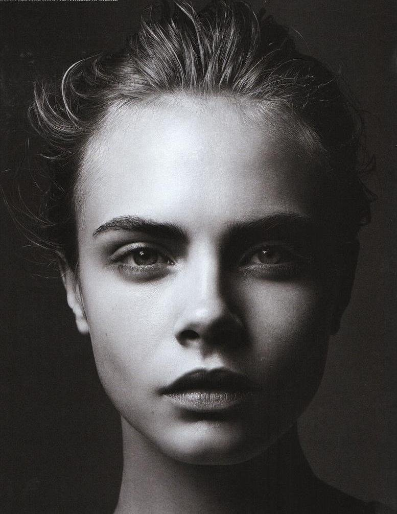 "Cara Delevingne in ""Fade to black"" by Simon Emmett for Wonderland, September 2011"