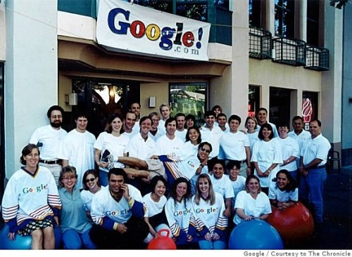 jaymug:  Google Company Photo from 1999