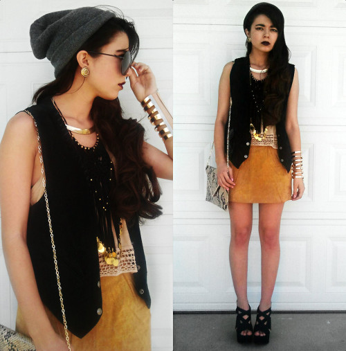 lookbookdotnu:  .The Wizard//Bat For Lashes. (by Kendall C.)